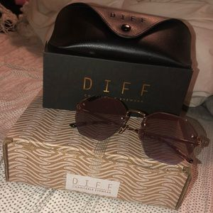 Super trendy DIFF eyewear sunglasses
